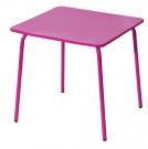 Metalen kindertafel